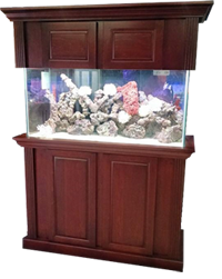 Grand Oak Rosewood Aquarium Wood Cabinet